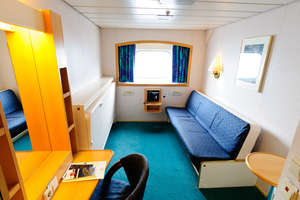 Kong Harald - Inside cabin
