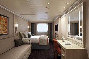 Koningsdam - Family Oceanview Cabin