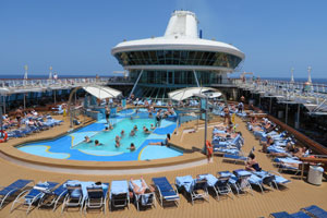 Legend of the Seas - Lido Deck