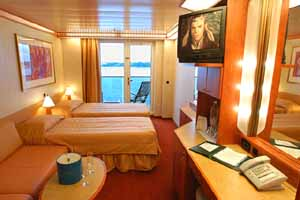 Carnival Legend - Ocean View Stateroom
