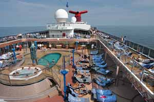 Carnival Legend - Pool