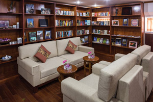 Mekong Pandaw - Library on Mekong Pandaw