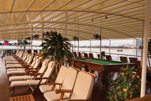Mekong Pandaw - The Top Deck