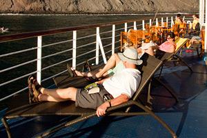 MV Santa Cruz - Sun Deck