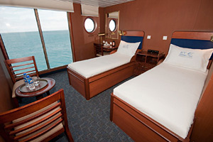 MV Santa Cruz - Superior Oceanview Cabin