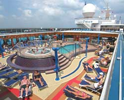 Carnival Miracle - Lido Deck