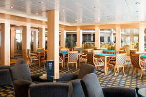 MSC Armonia - The Card Room & The Library
