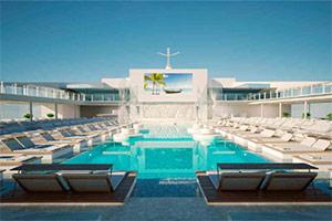 MSC Meraviglia - Main Pool Deck