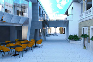 MSC Meraviglia - Promenade Deck