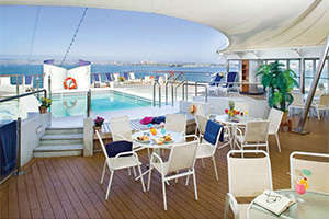 MV Explorer - Pool Deck