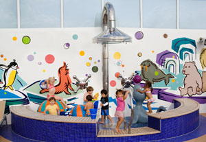 Norwegian Gem - Kids have plenty of places to play onboard.
