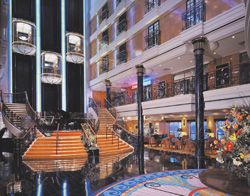 Norwegian Spirit - The Atrium