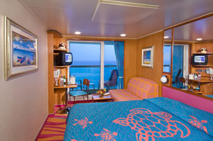 Norwegian Jewel - Oceanview Stateroom with Balcony