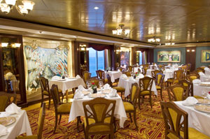 Norwegian Jewel - Fine French dining at Le Bistro