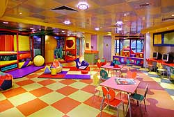 Norwegian Dawn - Kids Center