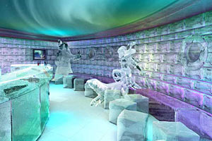 Norwegian Epic - Ice Bar