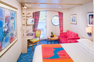 Norwegian Sky - Oceanview Cabin with Balcony