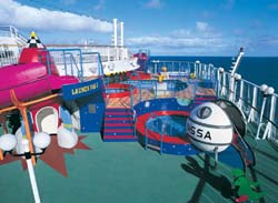 Norwegian Star - Splash Down Kids Pool