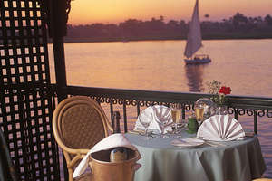 Oberoi Philae, Nile Cruiser - Balcony