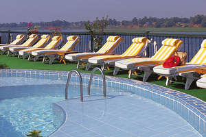 Oberoi Philae, Nile Cruiser - Pool