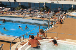 Oriana - Pools and Jacuzzi