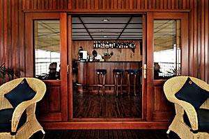 Orient Pandaw - Sun Deck Bar