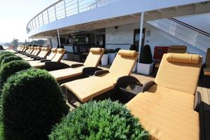 Pacific Jewel - Lounge on deck