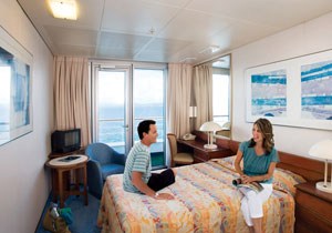 Pacific dawn cruise ship expert review photos on cruise for P o cruise bedrooms