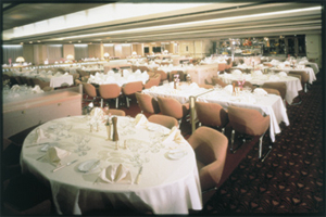 Pacific Princess - Dining Room