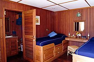 Pandaw II - Cabin