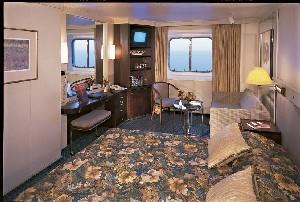 Prinsendam - Oceanview Cabin