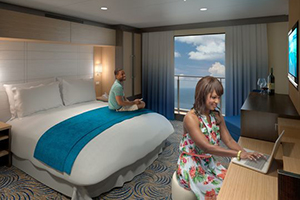 Ovation of the Seas - Cabin with virtual balcony