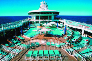 Navigator of the Seas - Pool Deck