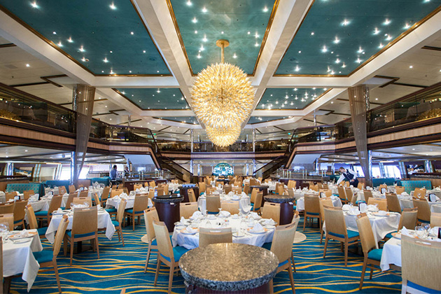 Carnival Sunshine - Sunrise Dining Room