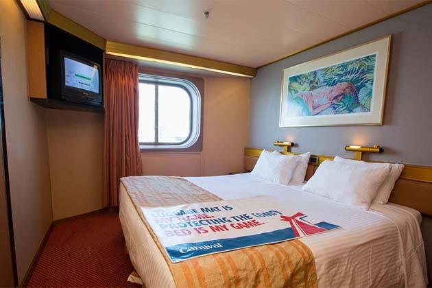 Carnival Triumph - Oceanview Cabin