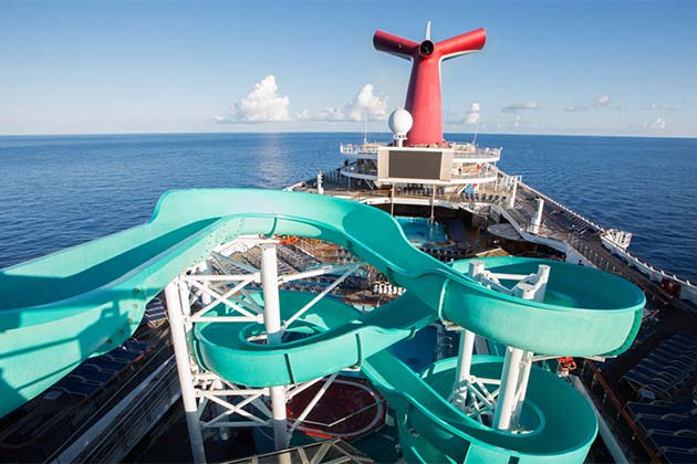 Carnival Triumph - The Twister Water Slide