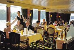 River Rhapsody - Dining onboard
