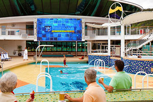 Liberty of the Seas - Lido Deck