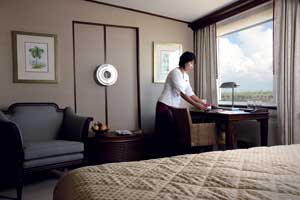 Belmond Road to Mandalay - A luxurious cabin