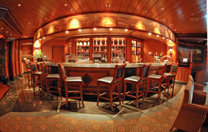 Ruby Princess - Smaller public rooms and venues give this large ship a small ship feel