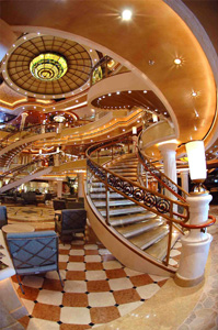 Ruby Princess - The Piazza