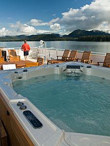 Safari Explorer - Hot Tub on Sun Deck