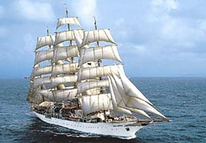 Sea Cloud - At Sea