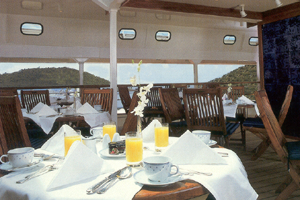 SeaDream II - Topside Restaurant