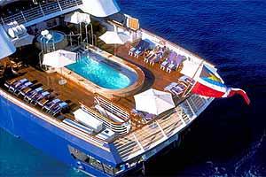 SeaDream I - Pool Deck