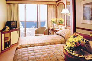 Sea Princess - Balcony Cabin