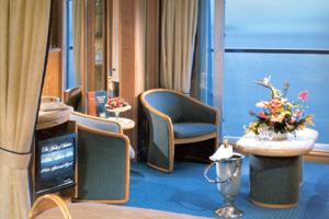 Seabourn Spirit - Balcony Cabin