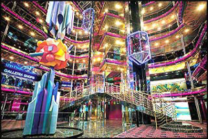 Carnival Sensation - Grand Atrium