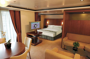 Seven Seas Voyager - All 700 suites are oceanview, each with a private balcony