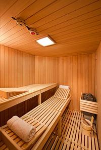 Silver Wind - Sauna